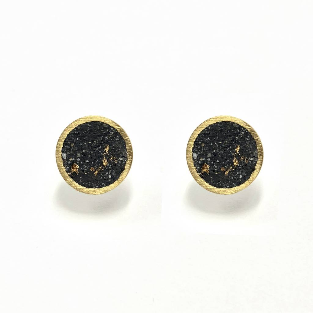 Concrete Brass Studs-Gold