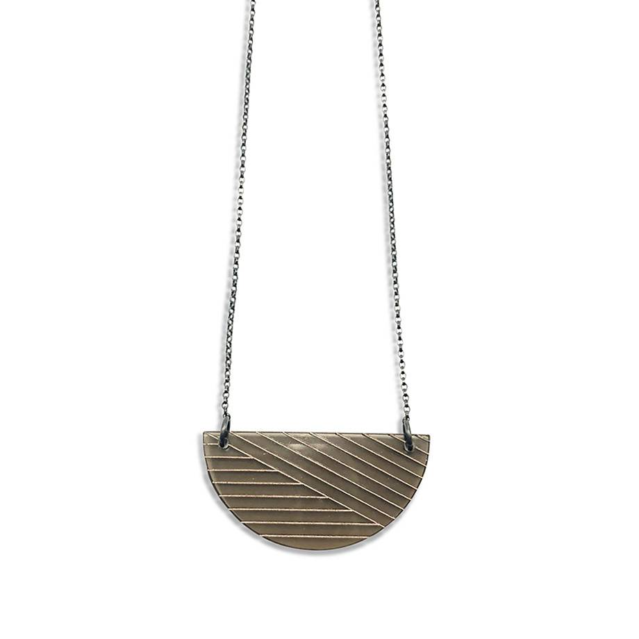 Mocha Acrylic Necklace