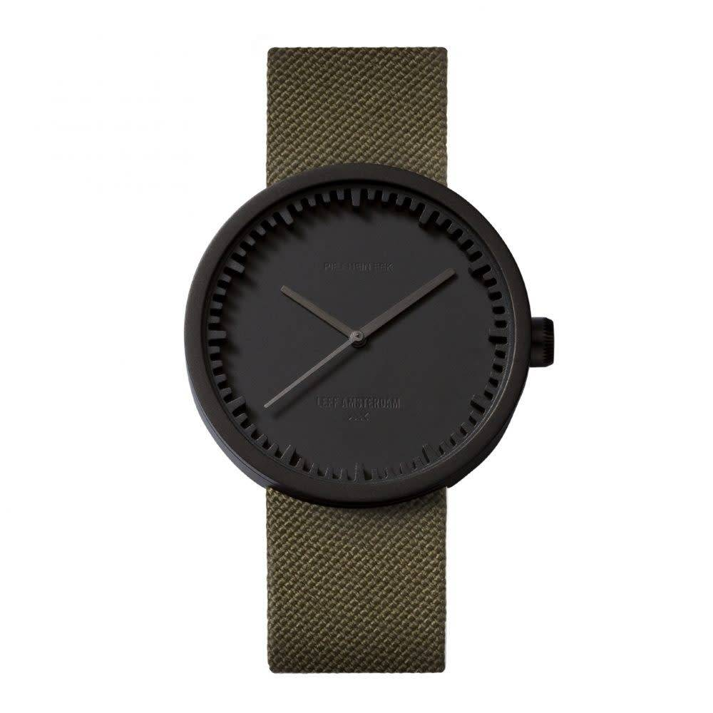 Tube Watch Black on Green