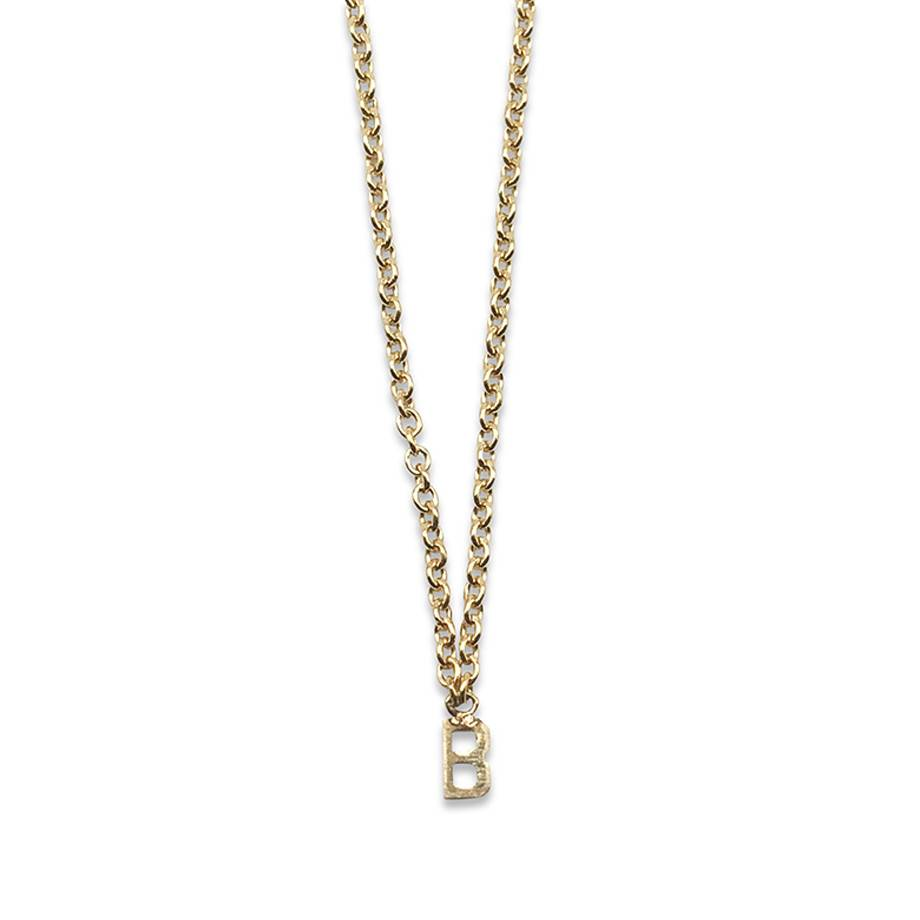 May Martin Initial Necklace