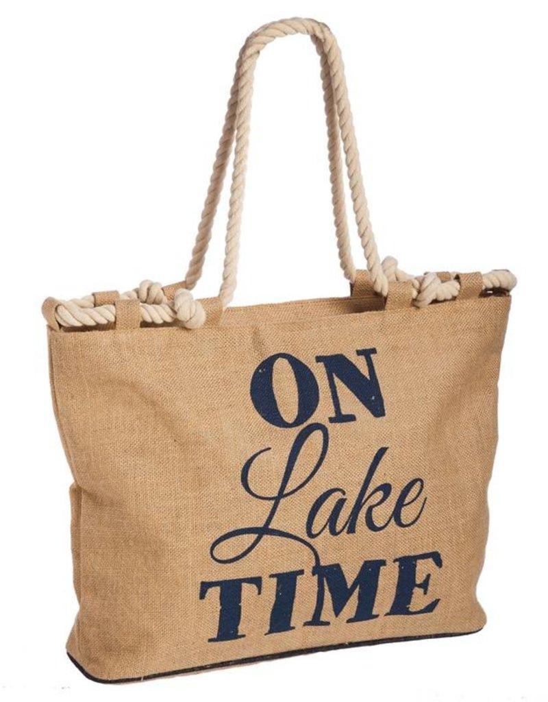LAKE TIME Canvas Tote