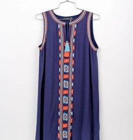THML EVA Embroidered Sleeveless Dress