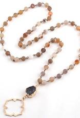 PARKER Druzy Pendant Necklace
