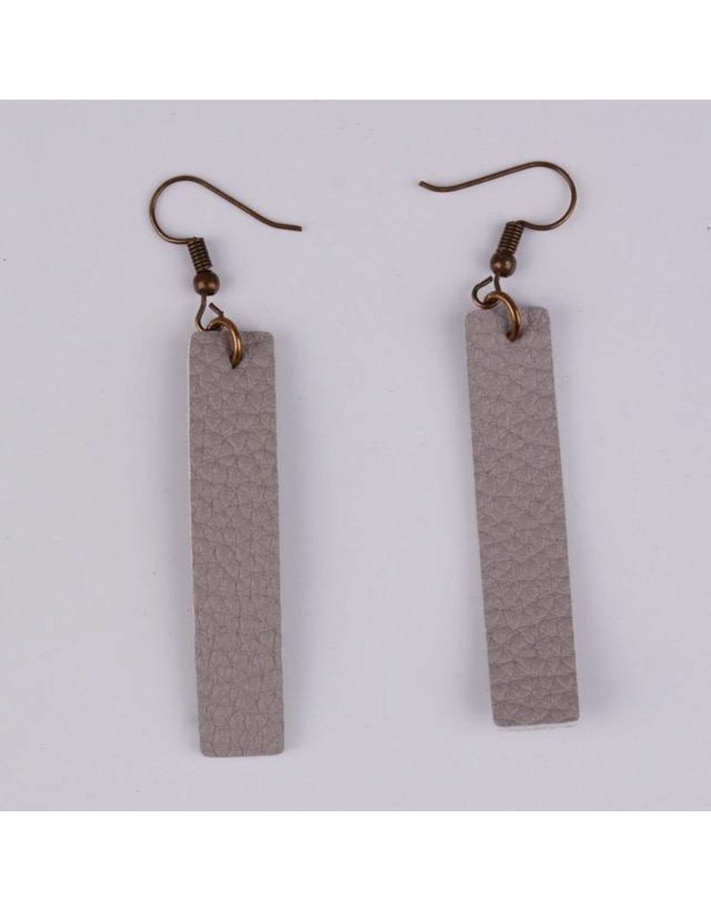 KENNEDY Leather Earrings