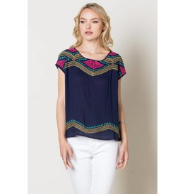 THML SCARLETT DIamond Cap Sleeve Top