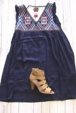 EDITH Empire Waist Dress