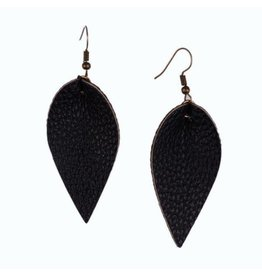L&N Rainbery JUNIPER Leather Earrings