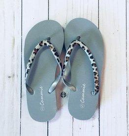 Safari Wedge Flip Flops