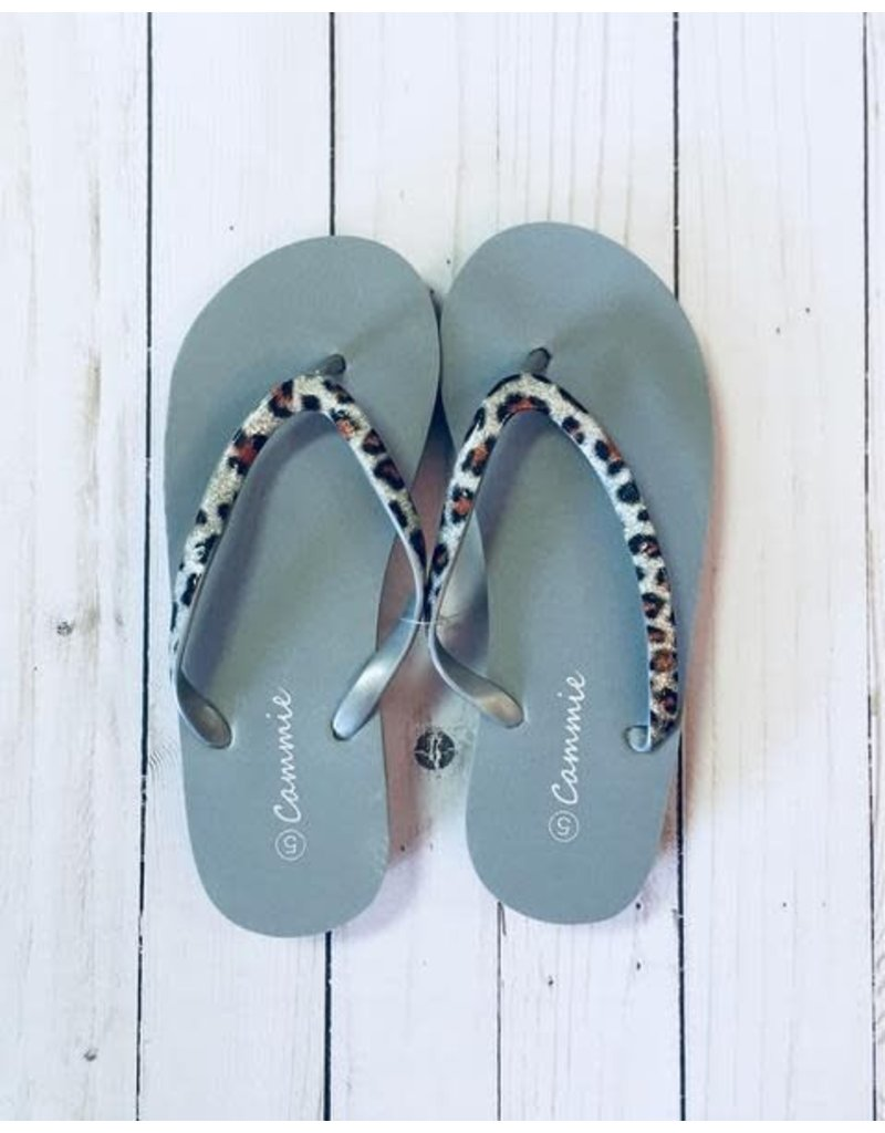 Safari Wedge Flip Flops