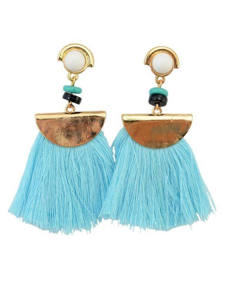 CARLEY Tassel Earring (More Colors)