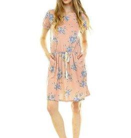 CASUAL Floral Pocket Dress