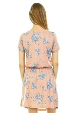 CASUAL Floral Pocket Dress