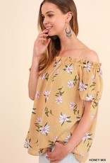 UMGEE DAISY off-the-shoulder Top