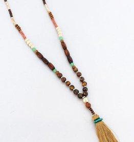 Wholesale Accessory Mart HAPPY HULA Beaded Medley Necklace