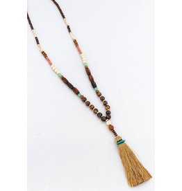 Wholesale Accessory Mart HAPPY HULA Beaded Medley Necklace