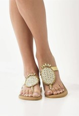 KAI Pineapple Flip Flops