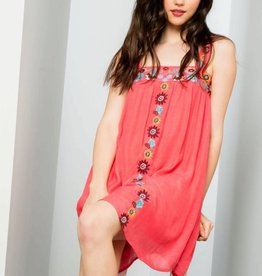 THML EMBER Embroidered Dress