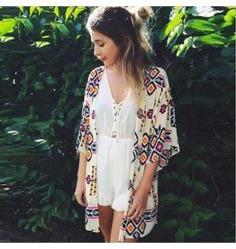 Spring DayDay BRYNN Axtec Kimono