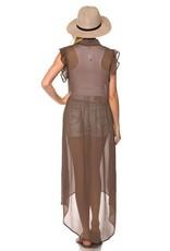 CY Fashion EVIE Mocha Duster