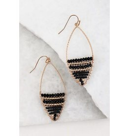 Urbanista LUNA Beaded Hook Earring