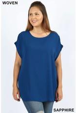 Zeana KALI JO Plus Size Relaxed Fit Top