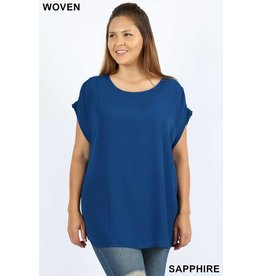 Zeana KALI JO Plus Size Relaxed Fit Top
