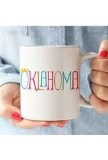 Rock Scissor Paper CROWN ME Oklahoma Mug