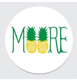 Rock Scissor Paper MOORE Pineapple Coasters