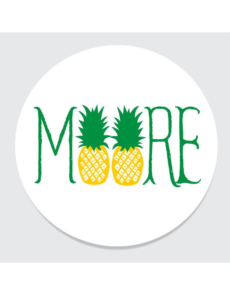 Rock Scissor Paper MOORE Pineapple Coasters