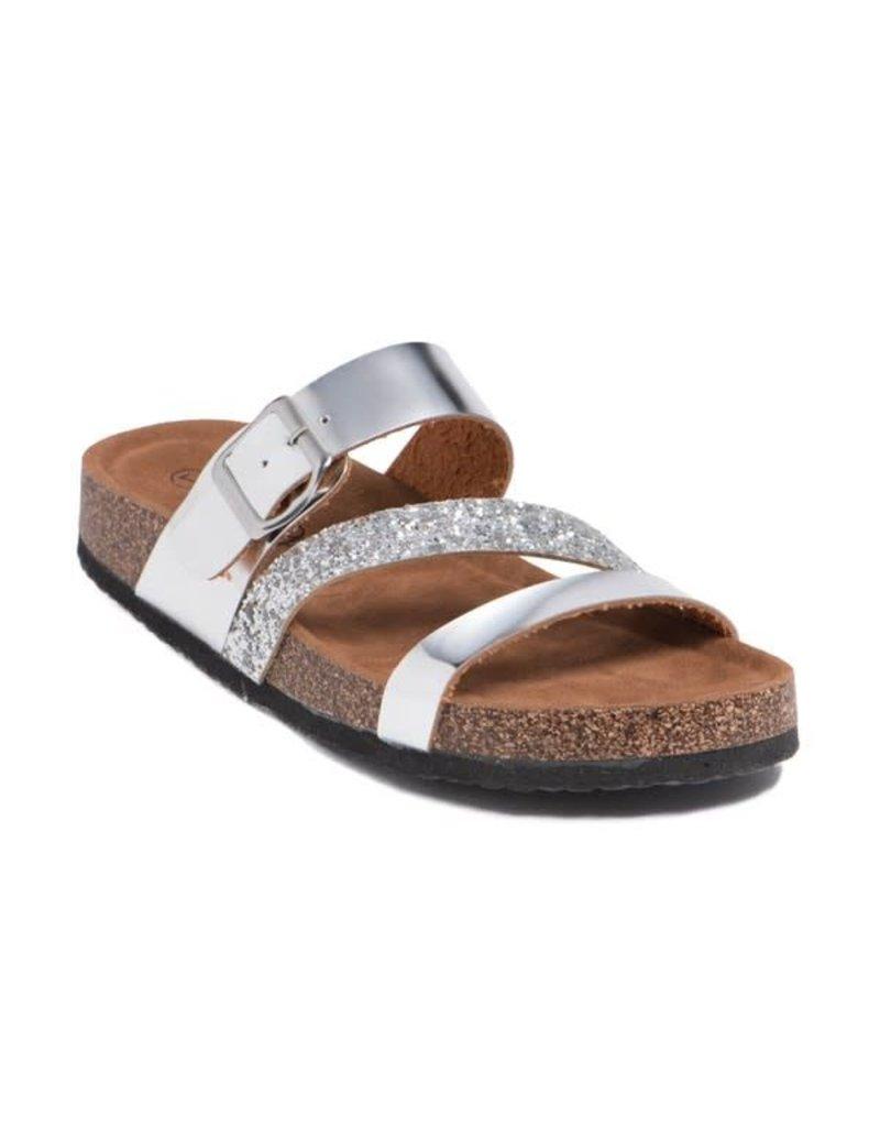 POPPY Rose Gold Sandals