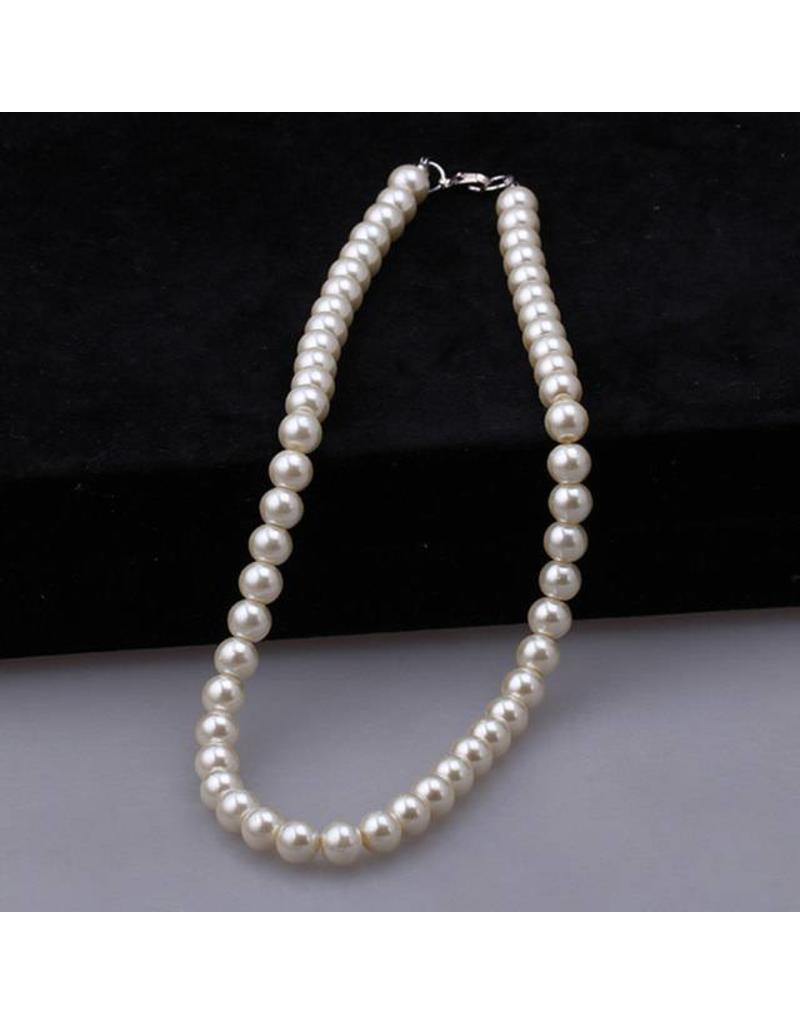 Fashion Fur Accessories PERLA Pearl Necklace