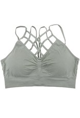 Yahada CAGED Bralette w Adjustable Straps