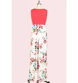 P.S. Kate LINCOLN Floral Maxi Dress