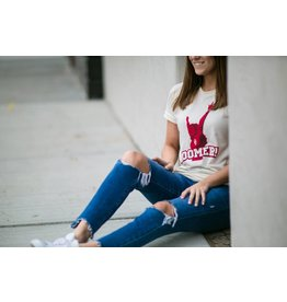 Hat & Field Sooner CHEERLEADER Tee