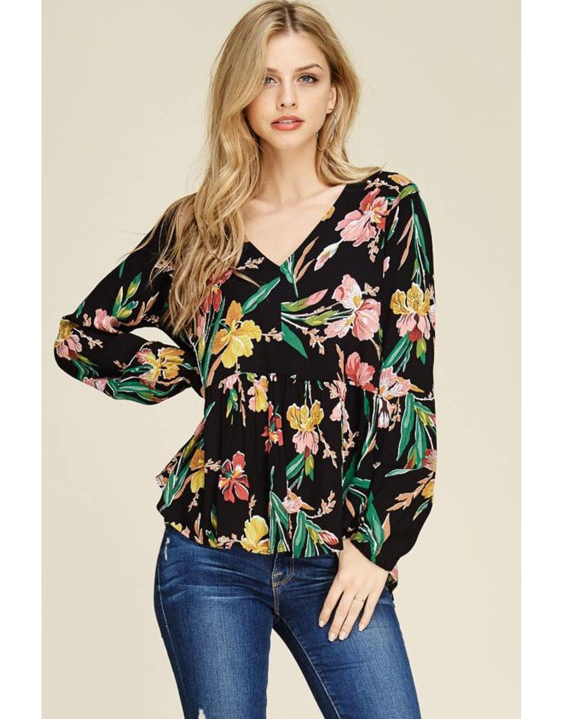 Staccato STARLY FLoral Top