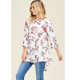 Staccato GEM Floral Top