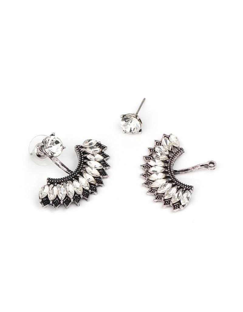 Jujia FANNING Peek-A-Boo Earring