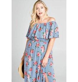 Oddi KAYLEE Plus Size Maxi Dress