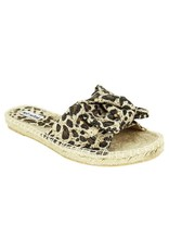 Not Rated ERRA Leopard Bow Sandal