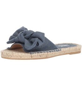 Not Rated ERRA Chambray Bow Sandal