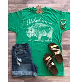 J&S Fashion OK BUFFALO Tee