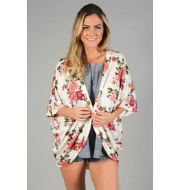 P.S. Kate KIMBERLY Floral Cardigan