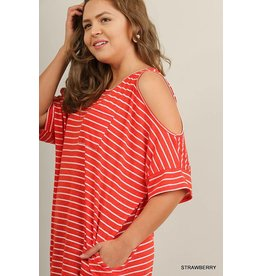 UMGEE MIRANDA Plus Size Cold Shoulder Tunic