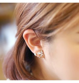 jztop MAKE A WISH Wrapped Earring