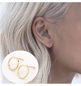 HelloLeo HOLLOW Circle Earring