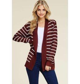 Staccato BREE Knit Stripe Cardigan