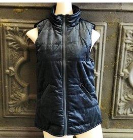 Staccato VAL Velvet Zip Up Vest