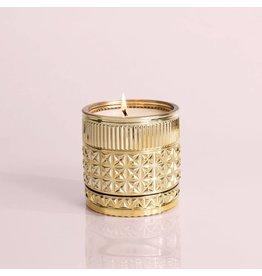 Capri Blue EXOTIC BLOSSIM & BASIL 11oz Gold Gilded Muse Capri Candle