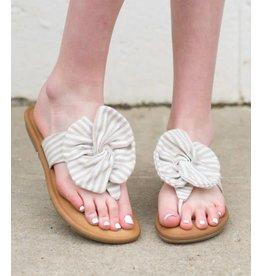 DELLA Bow Tie Sandals
