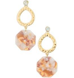 Girly COCO Acrylic Earring